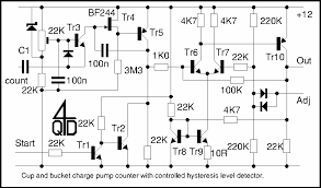 pulse counter circuit diagram the wiring diagram meter counter > counters > seven segment led display circuit circuit diagram