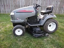 craftsman gt5000 garden tractor 50 inch