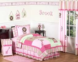 twin kid bedding pink and green girls jungle kids bedding full queen set home insights furniture