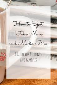 how to spot fake news and media bias printable for students how do you spot fake news and media bias a little old fashioned critical