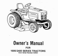 power king manuals owners manual for 1600 2400 series tractors from serial number 63563 parts and service information is included