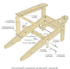 Adirondack Rocking Chair Plans  Ideas For The House  Pinterest Outdoor Furniture Plans Free Download