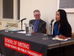 Review: Tina Chang at The New School's Poetry Forum with David Lehman [by Nora  Robertson] - The Best American Poetry