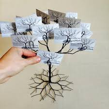 Business Cards Display Stands Wedding Wishing Tree Business Card Holder Display Stand And 32