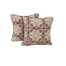 hampton bay fenton outdoor throw pillow 2 pack
