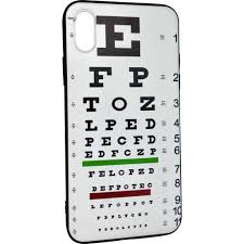 Eye Chart On Phone Iphone Case Eye Chart Products Iphone Cases Eye Chart