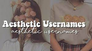 ✩ Aesthetic Usernames ✩ - YouTube