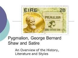 pyg on by g b shaw ppt video online pyg on george bernard shaw and satire an overview of the history literature and styles