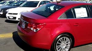 2011 Chevy Cruze Eco, 1.4L Turbo, Crystal Red Met., O'Donnell ...