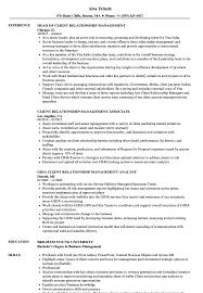 Client Relationship Management Resume Client Relationship Management Resume Samples Velvet Jobs
