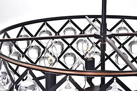stunning design oil rubbed bronze chandelier with crystals 26