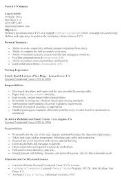 Nurse Resume Objectives Resume Objective Resume Example Sample