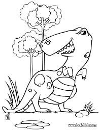 Big tyrannosaurus coloring pages - Hellokids.com