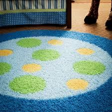 nursery rugs boy polka dot