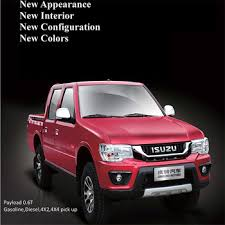New Model Isuzu Gasoline Pickup Trucks For Sale - Buy Isuzu Pickup ...