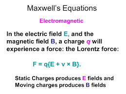 1 maxwell s equations electromagnetic