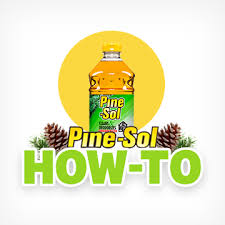 how to do laundry pine sol