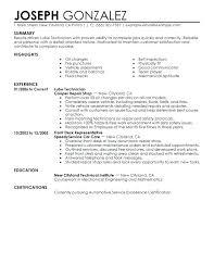 Mechanic Resume Template Delectable Diesel Mechanic Resume Best Image Diesel Mechanic Resume Summary