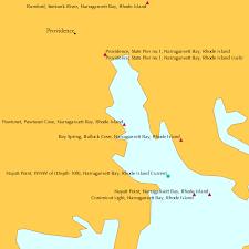 Pawtuxet Pawtuxet Cove Narragansett Bay Rhode Island Tide