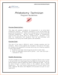 10 entry level phlebotomist resume skills based resume