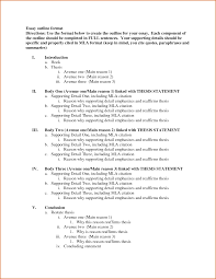 Writing A Research Paper Outline Samples Of Essay Outlines Outline Of Essay Format Co