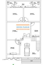 double bedroom house plan with porch
