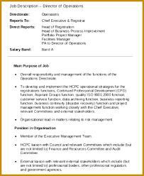 7 Finance Executive Job Description Pdf | Fabtemplatez