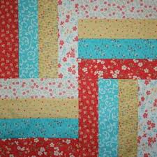 Lovely Rail Fence Quilt Table Topper Pattern | FaveQuilts.com & Lovely Rail Fence Quilt Table Topper Pattern Adamdwight.com