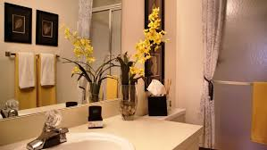 apartment bathroom ideas. Wonderful Apartment Bathroom Decorating Ideas Rental Remodel White Wstafel And Towel Mirror N