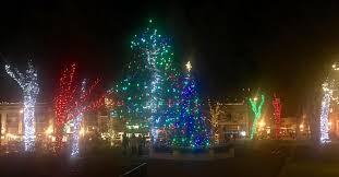 Prescott Az Christmas Tree Lighting Christmas Lights In The Courthouse Square In Prescott Az