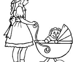 Small Picture Coloring Pages Cartoon Baby Doll AZ Coloring Pages Coloring