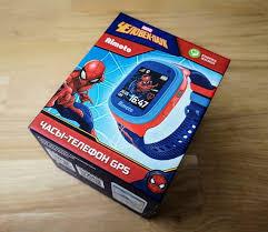 Обзор детских смарт-<b>часов</b> Кнопка Жизни Aimoto «Человек-паук ...