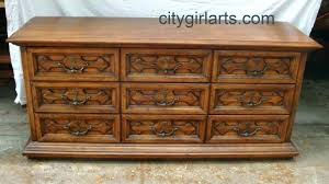 Astounding Henredon Bedroom Furniture Pan Asian Campaign Style Used ...