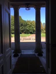 looking out front door. Uppark: Looking Out Through The Front Door R
