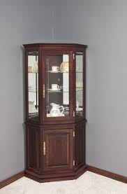 Glass Curio Cabinets With Lights Glass Lighted Curio Cabinets Soul Speak Designs