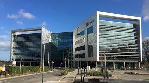 microsoft office building. Inside Microsoft\u0027s New Dublin Home: An LED Waterfall, A Digital Lake And DreamSpace Microsoft Office Building