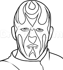 how to draw goldust from wwe