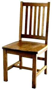 Mission Schoolhouse Dining Room Chair from DutchCrafters Amish