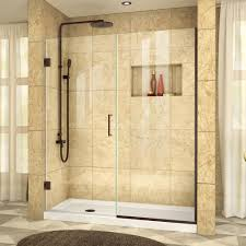 semi frameless shower doors. Unidoor Plus 48 To 48-1/2 In. X 72 Semi Frameless Shower Doors