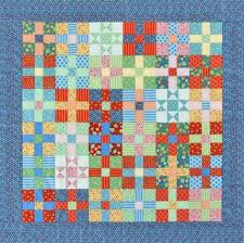 Uneven Nine-Patch & Star Quilt | Mary's quilt board | Pinterest ... & Uneven Nine-Patch & Star Quilt Adamdwight.com
