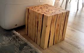 Sliced Log Coffee Table Wood Project How To Make A Stylish Wooden Side Table Part 1 Youtube