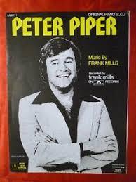 Pop Charts 1979 Details About Peter Piper Sheet Music Frank Mills 1979 Pop 48