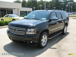 2011 Chevrolet Suburban LTZ in Black Granite Metallic - 100400 ...