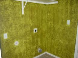 ugly pea soup green sponge paint laundry room bad mls photos phoenix home house