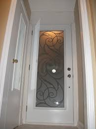 wrought iron exterior doors. 4- Fiberglass Door After Installation, Wrought Iron Exterior With Art Design Doors D
