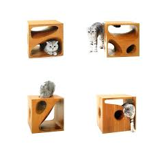 wooden cubes furniture. Unique Furniture Stylish Wooden Cubes Keep Your Cat Entertained And Table Architecture  Mango Wood Cube Furniture On D
