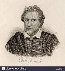 Ben Jonson aka Benjamin Johnson, 1572 - 1637. English Renaissance ...
