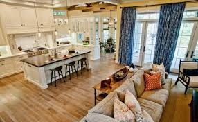 Kitchen Living Room Design 17 Open Concept Kitchen Living Room Design Ideas  Style Motivation Images