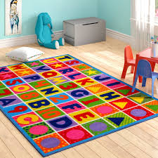 Rug Kids Ikea Wayfair Fornax Numbers And Letters Kids Area Rug Zoomie Reviews