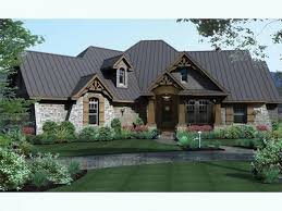 Craftsman House Plans at Dream Home Source   Craftsman Style Home    DHSW